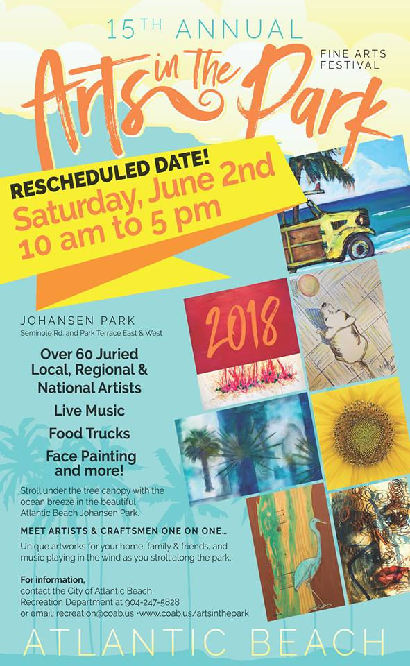 ArtsInThePark2018Rescheduled