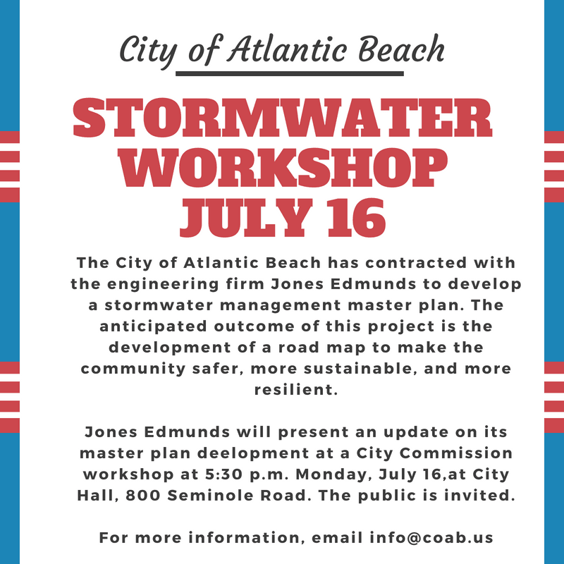 AnnouncementStormwaterWorkshop071618