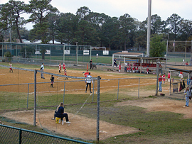 T-Ball game at Russell Park